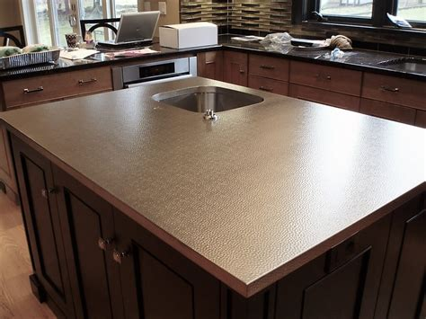 Stainless Steel Countertop Installation by Stainless Steel Countertop Custom