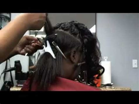 securetress by flexi strand healthy 1 hour weave no sew glue tape part 2 of 2
