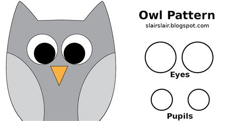 owl templates for sewing printable owl templates for sewing free template design