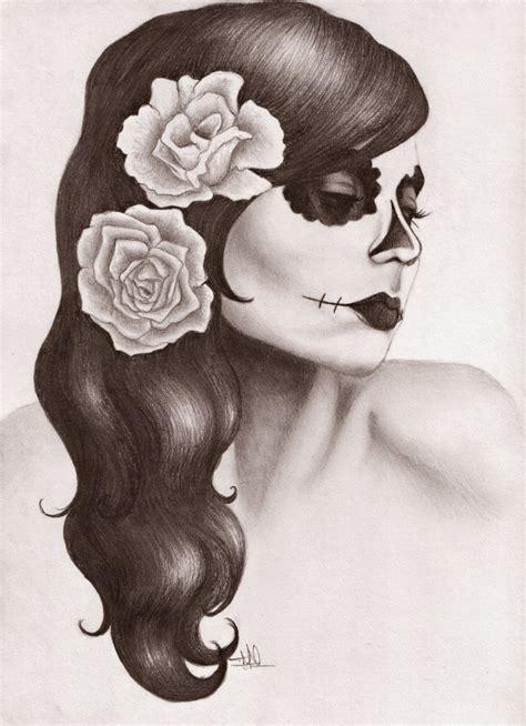 dia drawing dia de los muertos by thetanyadoll on deviantart