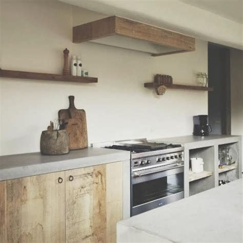 raw wood kitchen cabinets gorgeous farmhouse kitchen love the use of natural raw