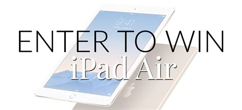 Ipad Air Sweepstakes - ipad air giveaway preppypanache