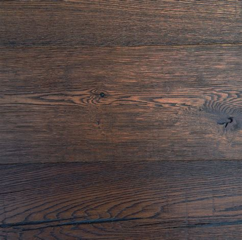 vintage oak wire brushed white oak tobacco stain eco