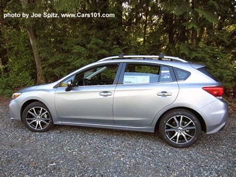 2017 subaru impreza sedan silver 2017 impreza subaru specs options prices dimensions