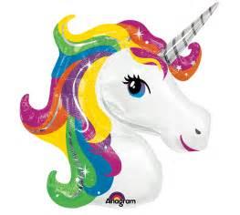 unicorn rainbow unicorn balloon sparkling rainbow mane unicorn balloon