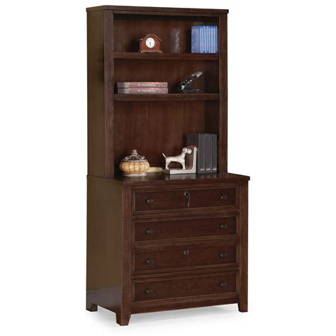 Flexsteel Wynwood Collection Theodore Contemporary Home Office Suite Furniture Set