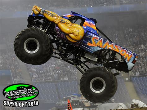 monster jam truck names themonsterblog com we know monster trucks profile samson