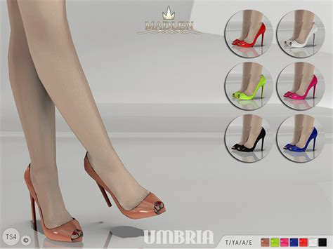 sims 4 shoes the sims resource mj95 s madlen umbria shoes