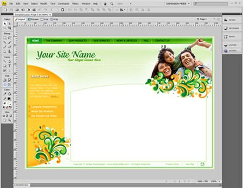 weaver template templates of websites dreamweaver free software