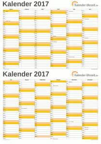 Kalender 2018 Zum Ausdrucken Halbjahr Kalender 2017 Zum Ausdrucken Kostenlos