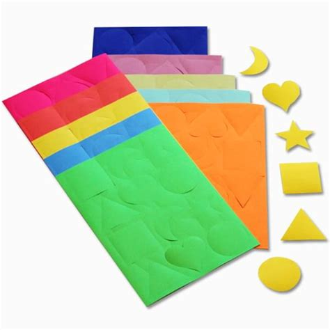 How To Make Paper Gum - gummed paper shapes pk300 bright ideas crafts