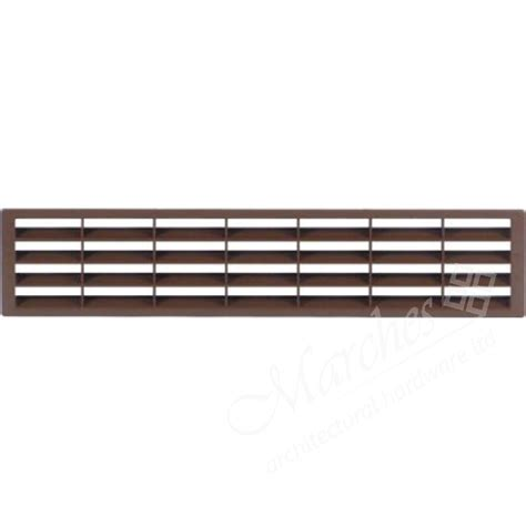 Cabinet Vent Grill by Vent Grill Brown 400x83mm Plastic Vent Grills