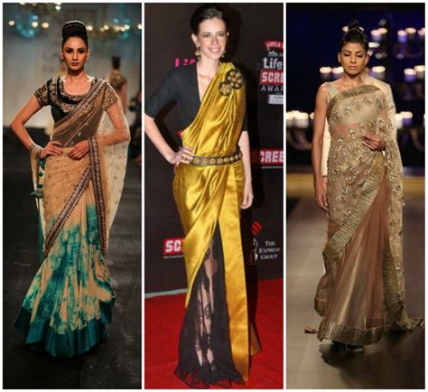 Sari Normal New Pack half and half sarees 5 most demanding concept g3fashion