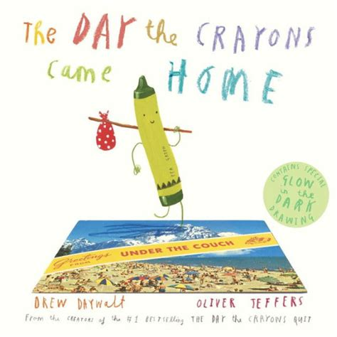 crayon picture book the day the crayons came home by drew daywalt oliver