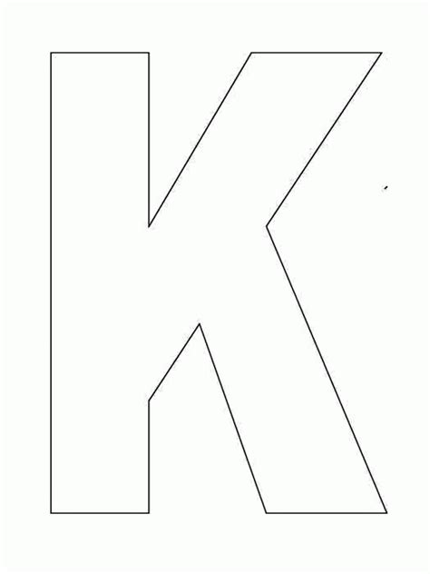 Letter K Sketches by Pages Letter K Coloring Pages