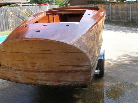 barrel back boat 1940 barrelback
