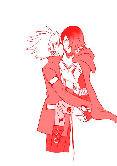 Kaos Anime Rwby Ruby 02 02 ruby rwby and ragna bloodedge by mattwilson83 on