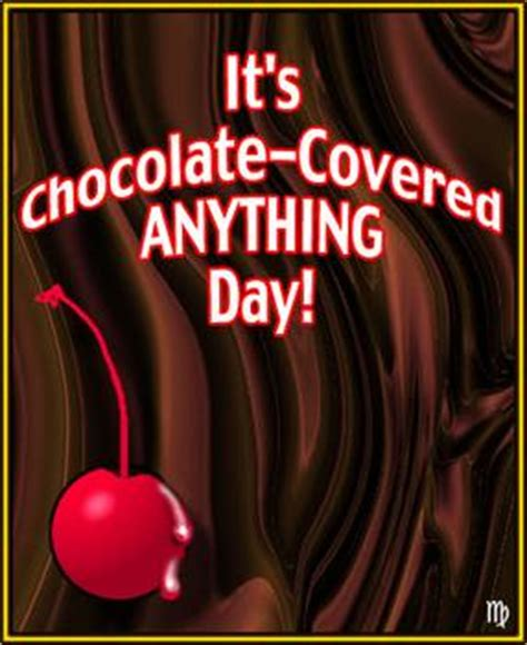 Kaos Just 1 Be 4 I Die Chocolate space coast december 16 is chocolate covered