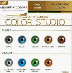 colors review meet air optix colors eyedolatry