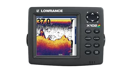 lowrance terminating resistor lowrance x102c networking