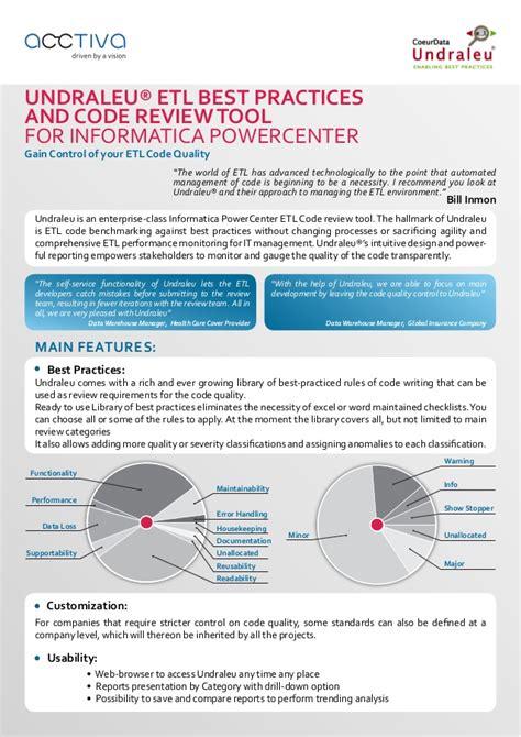 Informatica Powercenter Documentation undraleu etl code review tool for informatica powercenter