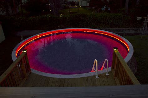 Pool Led Light Strips Outdoor Led Light Strips With Multi Color Leds Weatherproof Led Light With 9 Smds Ft 3