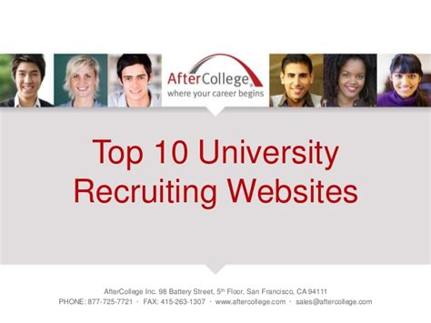 Microsoft Mba Recruiting Team Contact by The Top 10 Recruiting Websites