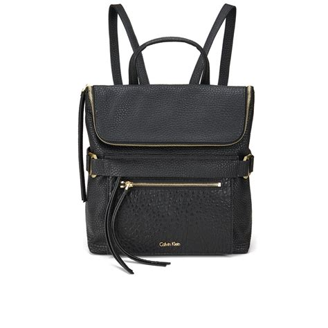 Ck Bag Backpack Black Ck20 calvin klein cecile backpack black