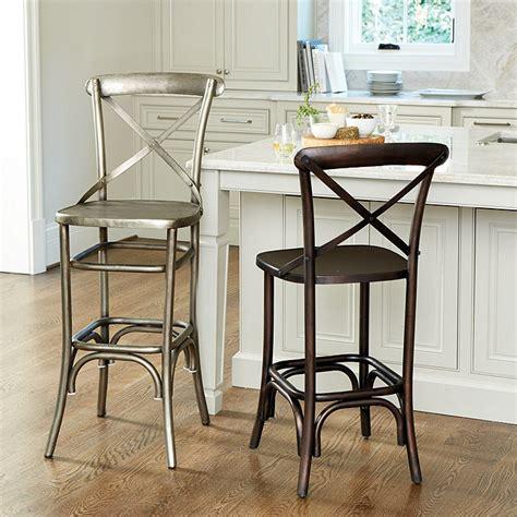 ballard design bar stools constance metal bar stool ballard designs