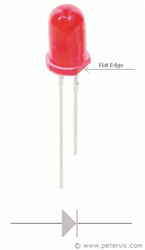 anode cathode led anode cathode