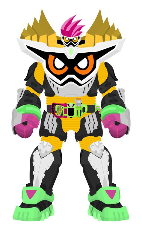 Ex Aid Maximum Mighty X kamen rider ex aid lv99 maximum mighty x by raidenzein on deviantart
