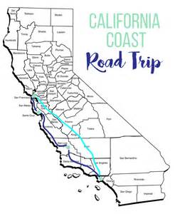 our california coast road trip bits of