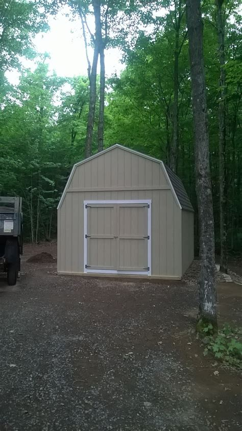 gambrel pole barn by barns and buildings chicken coop garden shed premium pole buildings storage sheds 12 by 16 gambrel