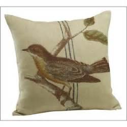 bird cafe pillow cover pottery barn polyvore