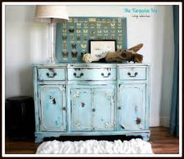 Turquoise Buffet Table The Turquoise Iris Furniture Vintage Buffet In