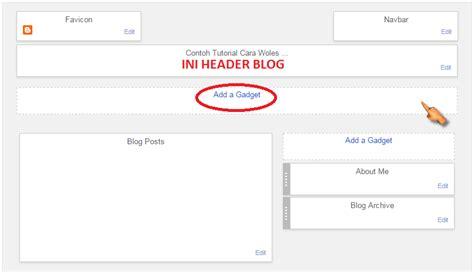 membuat menu navigasi website cara membuat menu navigasi di blog fauzan website