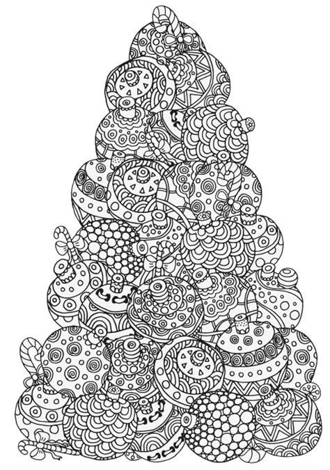 Christmas Coloring Pages Advanced | advanced christmas coloring 3 kidspressmagazine com