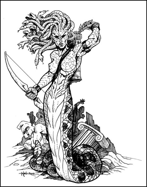 Greater Medusa by Everwho on DeviantArt