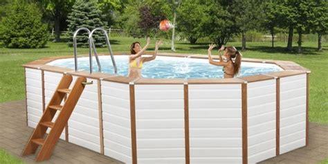 piscine rivestite in legno piscine fuori terra rivestite in legno technypools