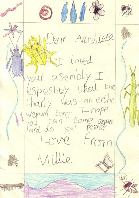 thank you letter ks1 thank you letter exles ks1 cover letter