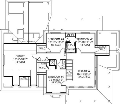 Family Friendly House Plans | 4 bedroom 3 bath cottage house plan alp 086x