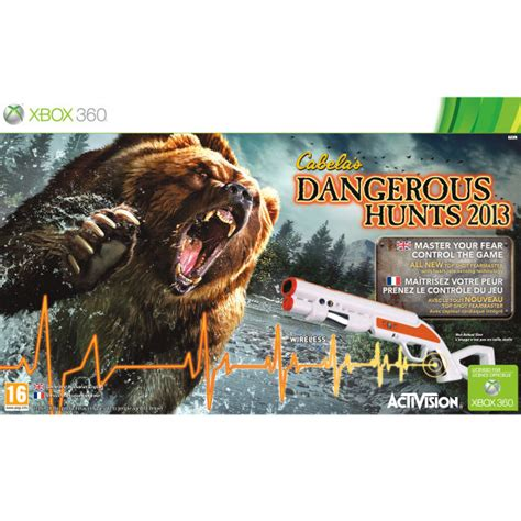 cabelas na cabela s dangerous hunts 2013 bundle xbox 360 zavvi