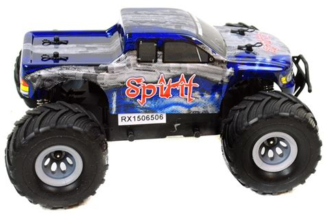 bigfoot electric monster truck bigfoot 1 24 electric rc truck 2 4ghz rtr spirit