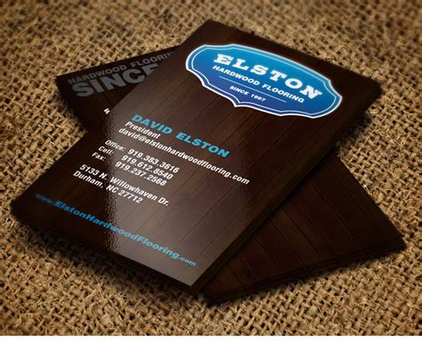 Flooring Business by Elston Hardwood Flooring Logo Design