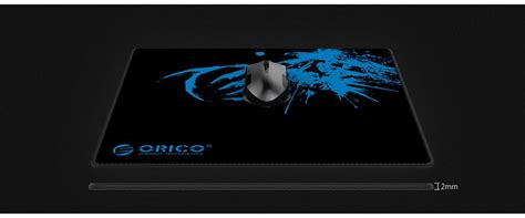 Orico Gaming Mouse Pad Mpa Hitam 300 X 250 4 Mm orico rubber mouse pad mpa3025