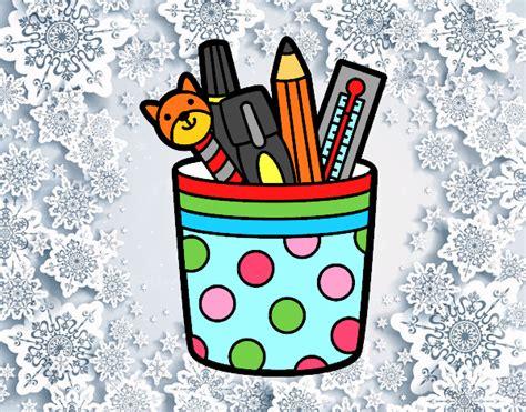 imagenes para tareas escolares dibujo de utiles escolares pintado por en dibujos net el