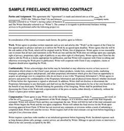 freelance template sle freelance template 5 free documents in pdf