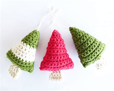 crochet pattern christmas tree ornament for the love of crochet along christmas crochet