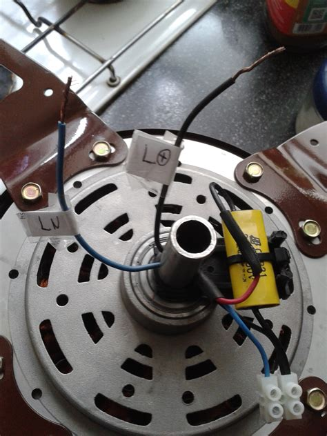 probar capacitor cbb61 solucionado conectar ventilador de techo marca yoreparo