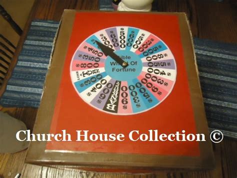 Bible Wheel Of Fortune Game Diy Idea To Make Your Own By Churchhousecollection Com Bible Talk How To Make Your Own Wheel Of Fortune